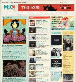 Mic Frontpage 2012